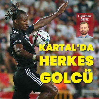Beşiktaş'ta herkes golcü!