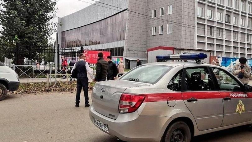 Rusya'da bir üniversitede düzenlenen silahlı saldırıda en az 8 kişi hayatını kaybetti