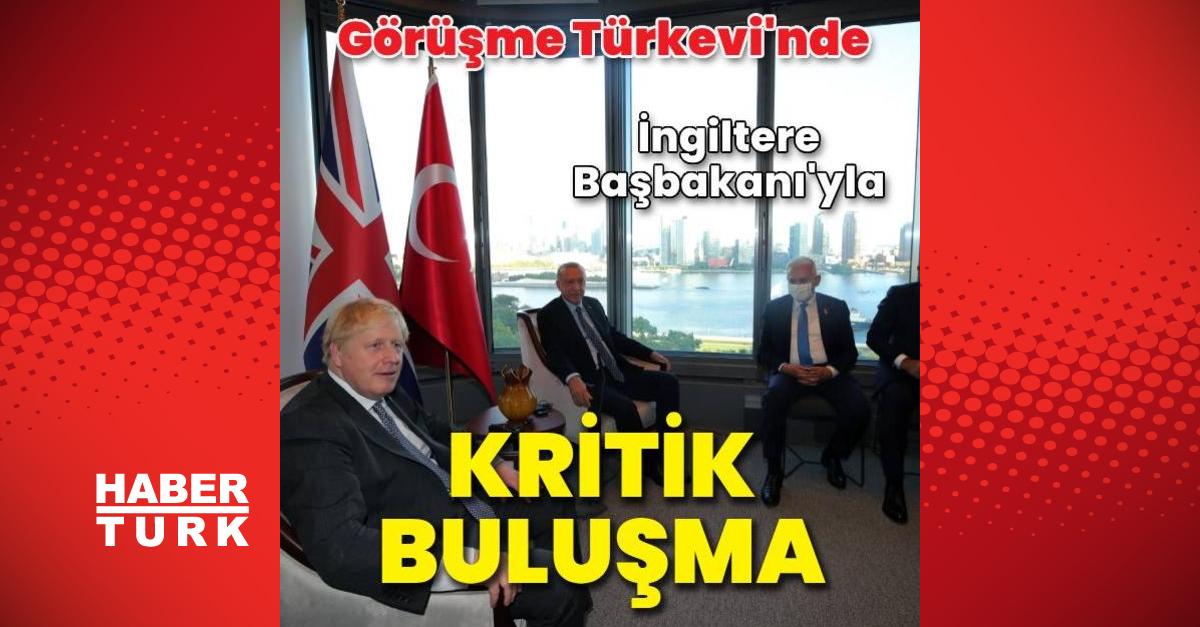 Cumhurbaşkanı Erdoğan ve İngiliz Başbakan Johnson görüştü