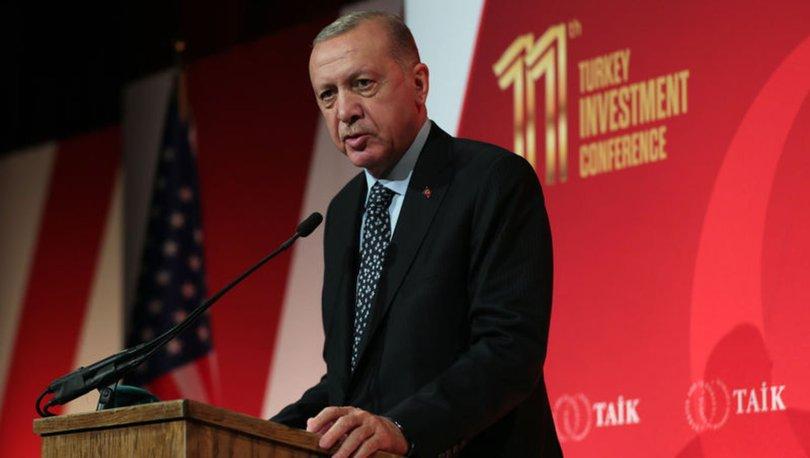 Son dakika... Cumhurbaşkanı Erdoğan, ABD iş dünyası temsilcileriyle bir araya geldi