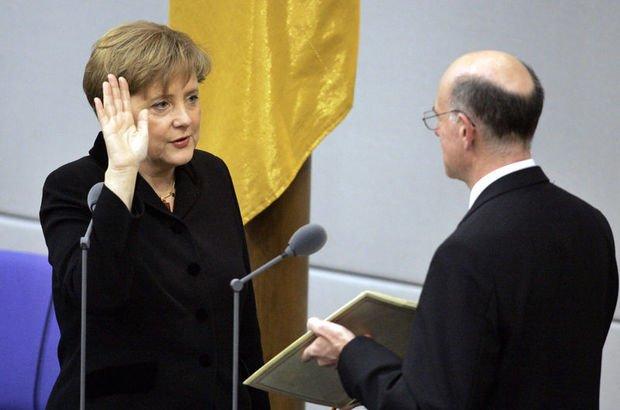 Almanya'nın ilk kadın şansölyesi