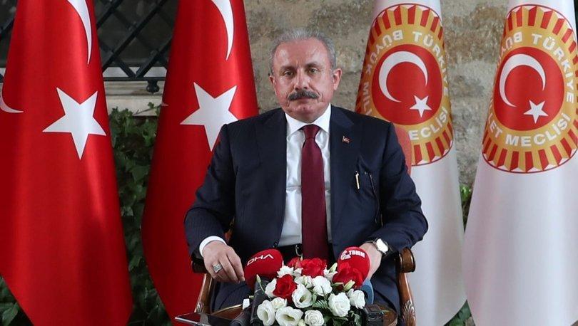 TBMM BaşkanıŞentop'tan, AB'nin göç, İslamofobi ve Doğu Akdeniz politikalarına eleştiri