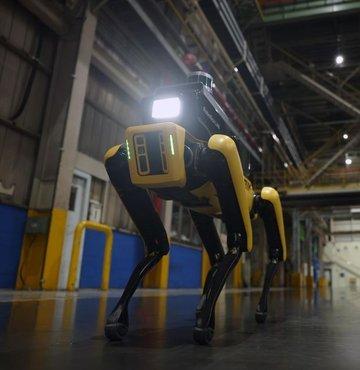Koreli otomotiv üreticisi Hyundai, Boston Dynamics ile birlikte geliştirdiği robotu görücüye çıkardı. İki şirketin geliştirilmesinde birlikte rol oynadığı robot, fabrikaların güvenlik departmanlarında kullanılacak. Güvenlik robotunun, yapay zekası ile endüstriyel alanların uzaktan gözlemlenmesine olanak tanıyacağı aktarıldı. Hyundai, geçtiğimiz aylarda Boston Dynamics'in kontrol hisselerini satın almıştı