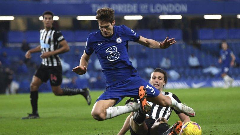 Chelseali futbolcu Marcos Alonso, diz çökme eylemine katılmayacak