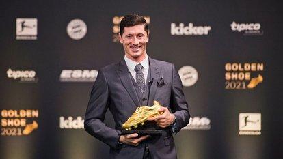 Lewandowski ödülüne kavuştu