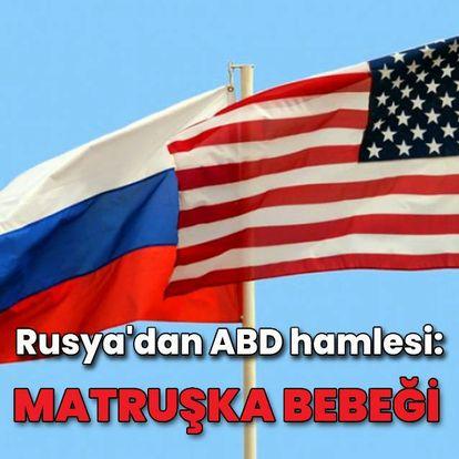 Rusya'dan ABD hamlesi: Matruşka bebeği uydusu!