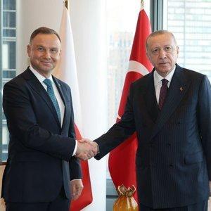 Cumhurbaşkanı Erdoğan, New York'ta liderlerle görüştü