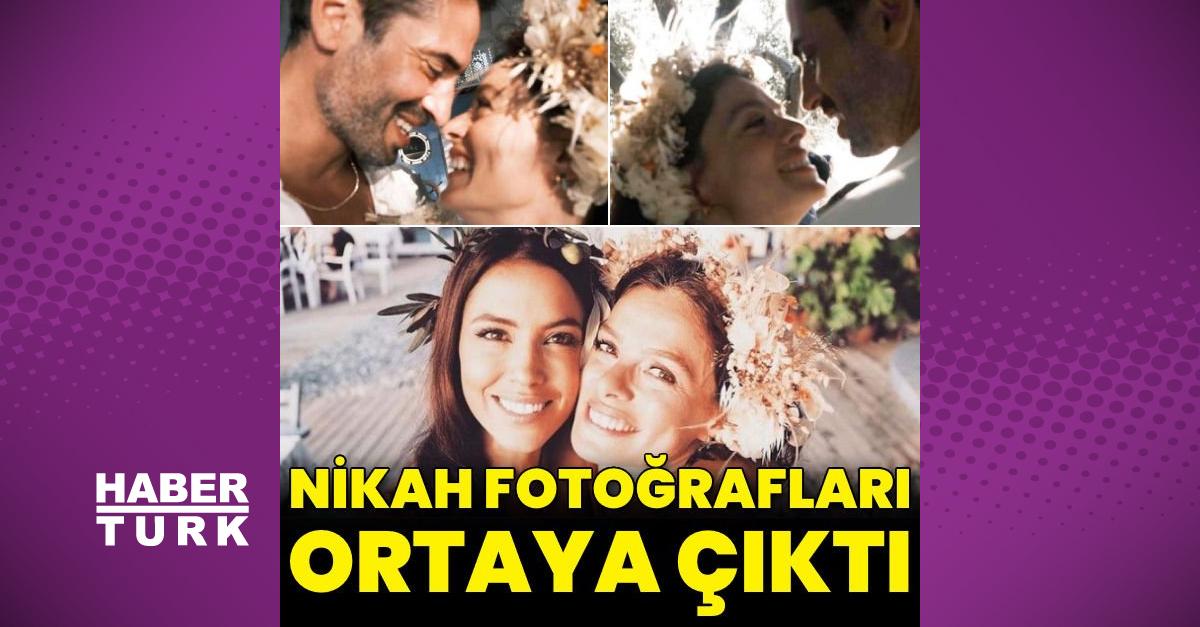 Özge Özpirinçci ile Burak Yamantürk'ün nikah fotoğrafları ortaya çıktı - Magazin haberleri - Habertürk