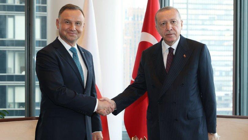 Cumhurbaşkanı Erdoğan, New York'ta çeşitli ülke liderleriyle görüştü