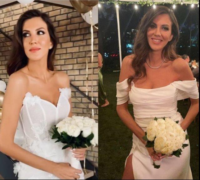 Arda Türkmen ile Melodi Elbirliler evlendi! Melodi Elbirliler'in gelinliği yanıyordu! - Magazin haberleri
