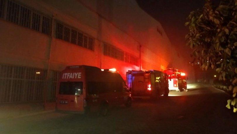 Kahramanmaraş'ta iplik fabrikasında yangın!