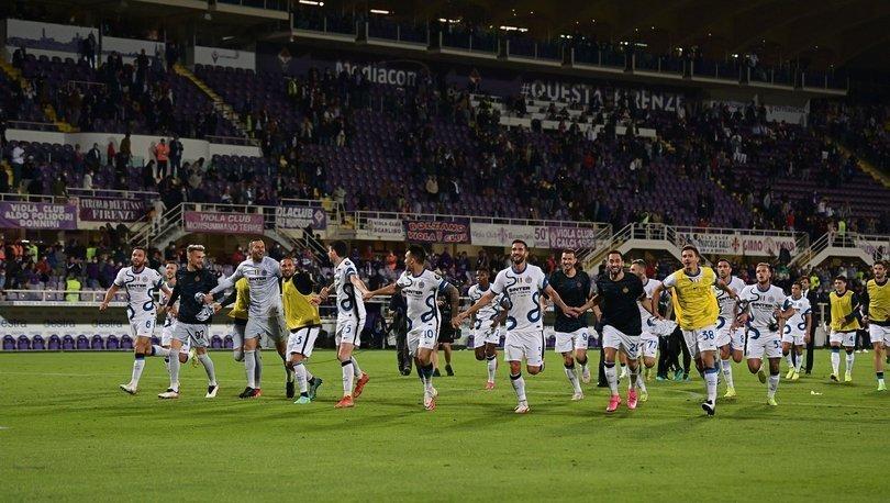 Inter, Fiorentina'yı ikinci yarıda bulduğu gollerle yendi