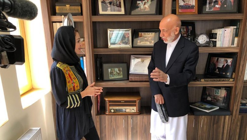 SON DAKİKA: Nagehan Alçı'nın Afganistan eski Devlet Başkanı Karzai ile röportajı dünya basınında
