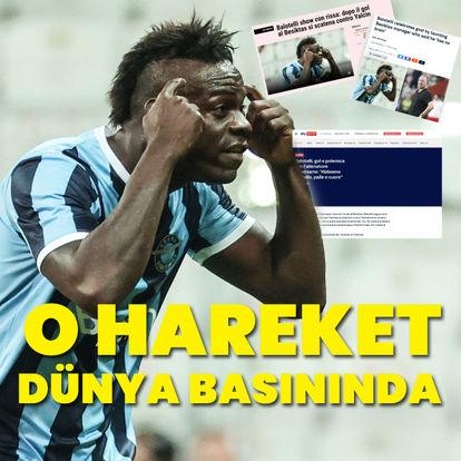 Balotelli dünya basınında!