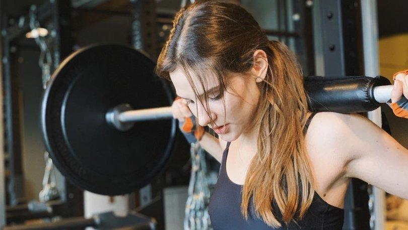 Alina Boz spor yaparken neler dinliyor? -  Magazin haberleri