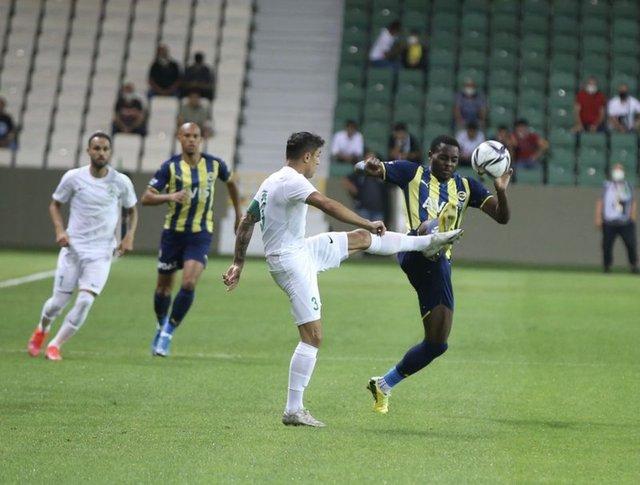 Fenerbahçe'nin Giresunspor maçı muhtemel 11'i
