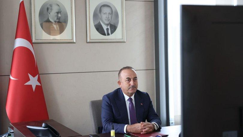 Bakan Çavuşoğlu'ndan uluslararası topluma