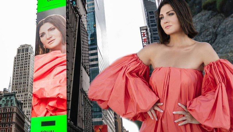 Sibel Can, New York Times Square'de! - Magazin haberleri