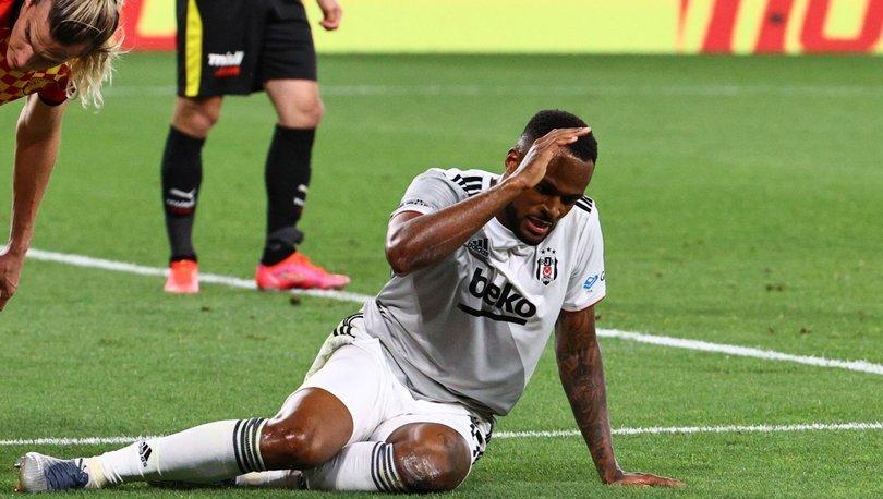 Beşiktaş'a şok üstüne şok! Larin de sakatlandı