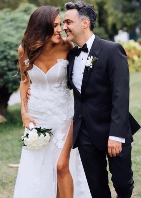 Arda Türkmen ile evlenen Melodi Elbirliler'den nikah sonrası ilk hamle - Magazin haberleri