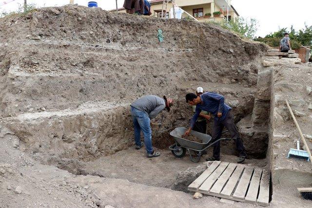 Elazığ'da Osmanlı dönemine ait olduğu değerlendirilen yapı bulundu