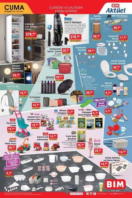 BİM'de indirim günü... BİM aktüel ürünler 24 Eylül listesi: Drone, televizyon, buzdolobı