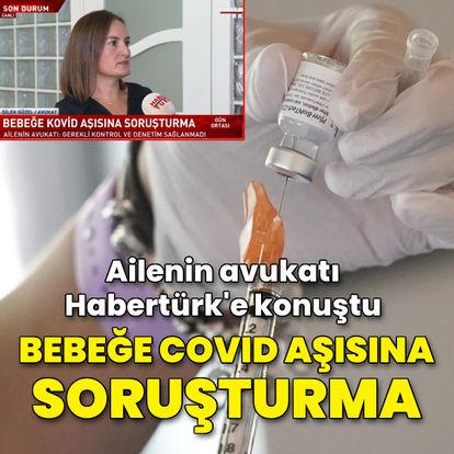 Bebeğe Covid-19 aşısı vurulduğu iddiasına ilişkin başsavcılık soruşturma başlattı
