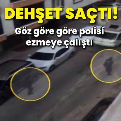 İstanbul'un orta yerinde dehşet saçtı!