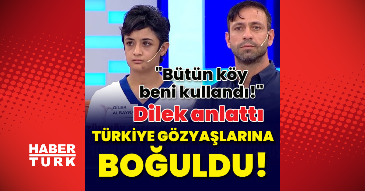 Dilek anlattı, Türkiye gözyaşlarına boğuldu!