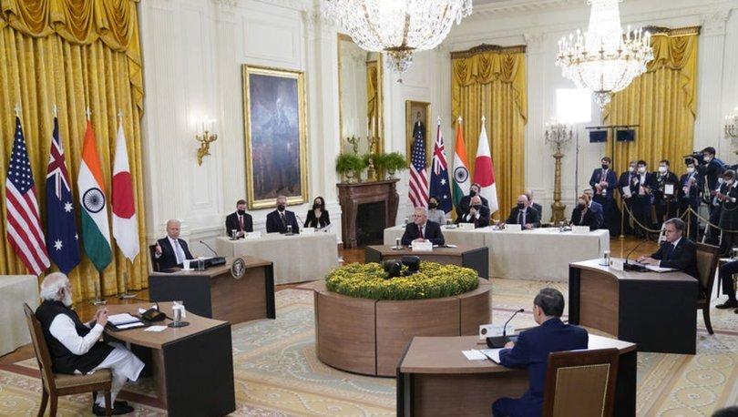 Quad liderlerinin Beyaz Saray'daki ilk yüz yüze toplantısını başladı