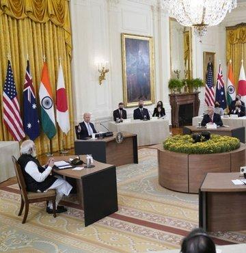 """ABD, Hindistan, Japonya ve Avustralya arasında kurulan ve Hint-Pasifik bölgesinde """"Çin"""