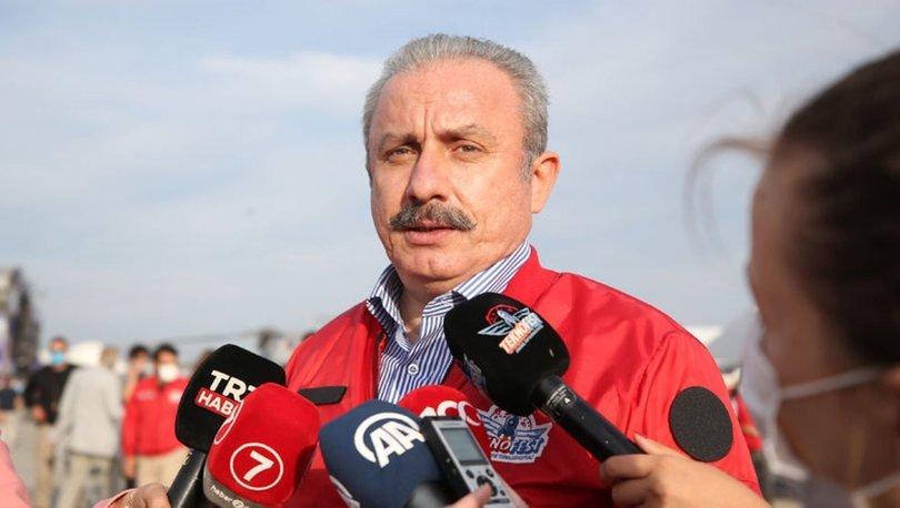 TBMM Başkanı Mustafa Şentop, TEKNOFEST'i ziyaret etti