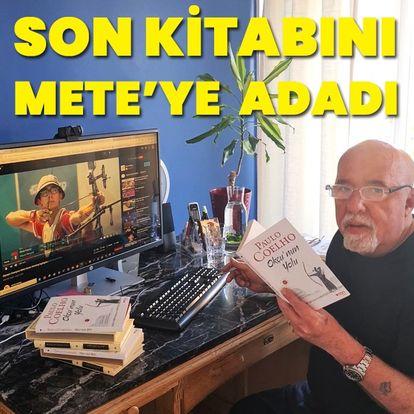 Son kitabını Mete Gazoz'a adadı