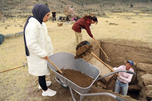 İç Anadolu'nun Efes'i olmaya aday Mokissos'ta kazılar başladı