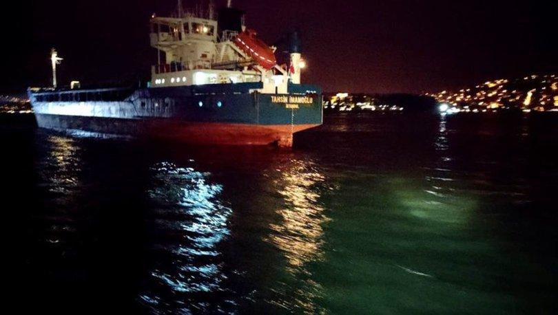 BOĞAZ'DA KAZA! Son dakika: İstanbul Boğazı'nda korkutan iki kaza! - VİDEO HABER