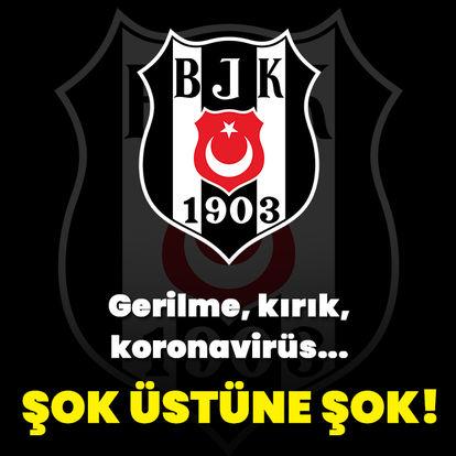 Beşiktaş'tan yeni açıklama: Gerilme, kırık, koronavirüs!..