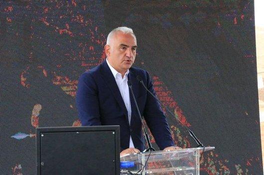 Kültür ve Turizm Bakanı Mehmet Nuri Ersoy Dil Bayramı'nı tebrik etti