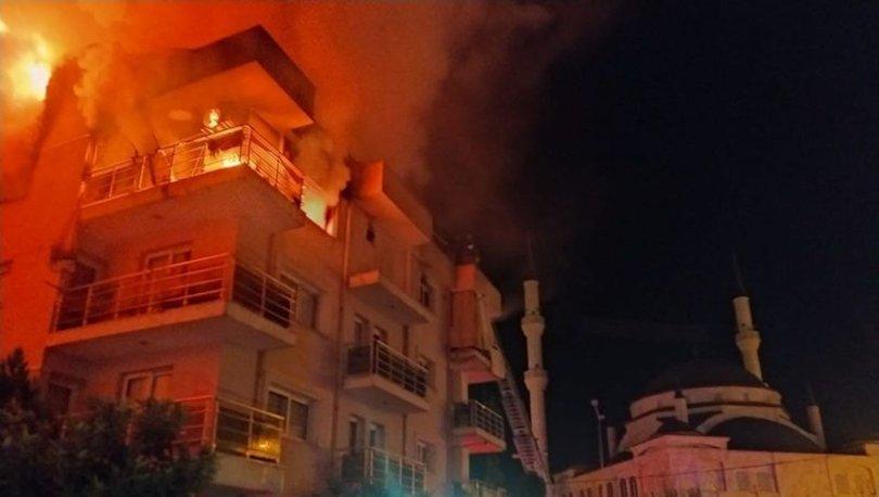 Son dakika: Koca dehşeti! Ailesi uykudayken evi ateşe verdi