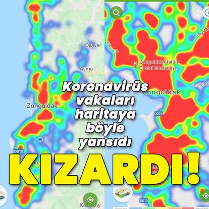 Zonguldak kızardı! HES uygulamasında böyle görüldü