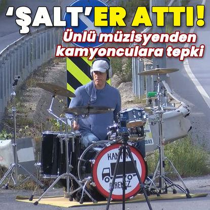 Müzisyen Alpay Şalt'tan kamyoncu isyanı!