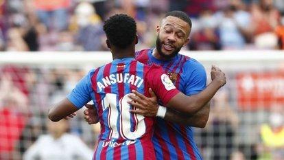 Barcelona, Levante'yi üç golle geçti