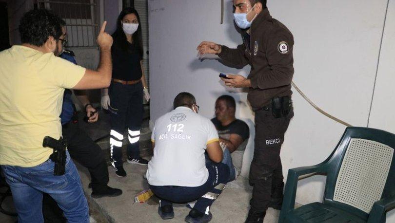 Adana'da yangın çıkan evde mahsur kalan kişi kurtarıldı
