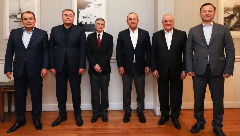 Nobel ödüllü bilim insanı Sancar, Türk Konseyi'nin onur konuğu oldu