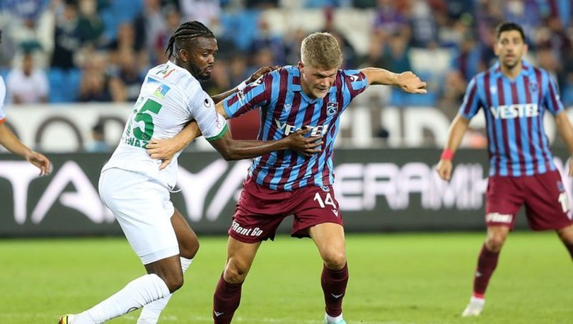 Trabzonspor: 1 - Alanyaspor: 1 | MAÇ SONUCU