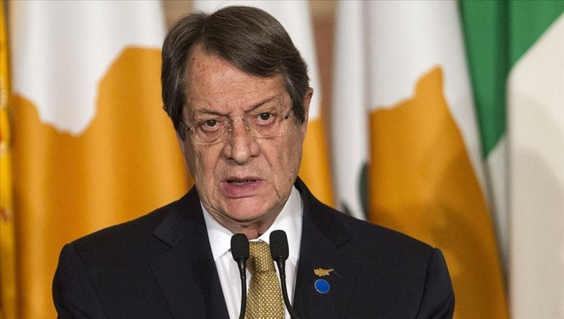 Rum lider Anastasiadis, Kıbrıs'ta iki devletli çözüme 'hayır' dedi