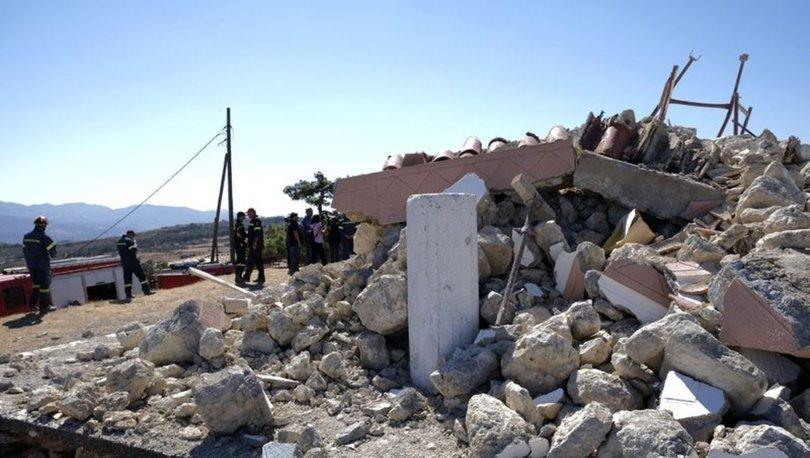 SON DAKİKA: Yunanistan'ın Girit Adası'nda 5.0 büyüklüğünde bir deprem daha!