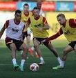 Galatasaray, Fransa temsilcisi Olympique Marsilya ile 30 Eylül Perşembe günü deplasmanda yapacağı UEFA Avrupa Ligi E Grubu ikinci maçının hazırlıklarına devam etti