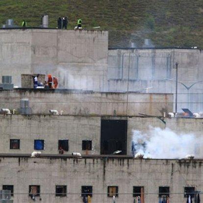 Ekvador'da cezaevinde çeteler arasında çatışma çıktı: 24 ölü, 48 yaralı