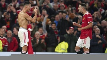 Manchester United'ı Ronaldo kurtardı!