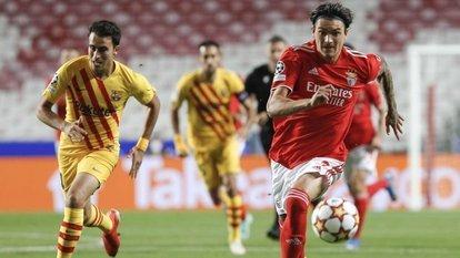 Benfica, Barça'yı dağıttı!
